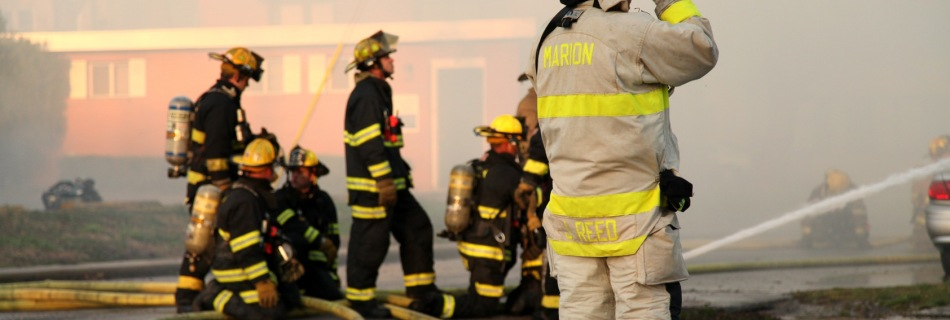 A Fire in Marion